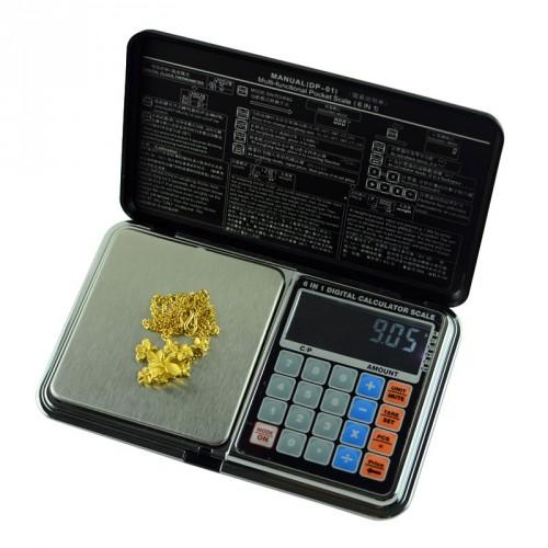 6 v 1 multifunkčná váha do 500g / 0,01g